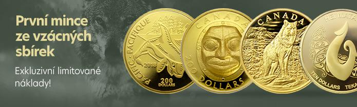 Zlaté mince zahraničí