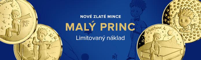 Zlaté mince Malý princ