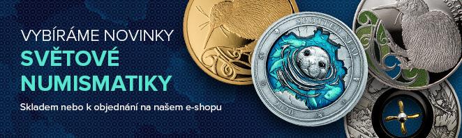 Novinky světové numismatiky
