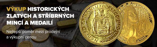 Výkup historických mincí