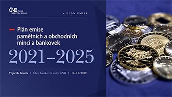 Emisní plán České národní banky zde
