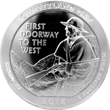 Stříbrná investiční mince America the Beautiful - Kentucky 5 Oz 2016