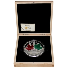 Stříbrná mince 1 Kg Maple Leaf Forever 2014 Proof (.9999)