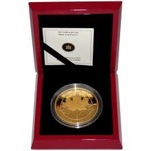 Zlatá mince 5 Oz Maple Leaf Forever 2012 Proof