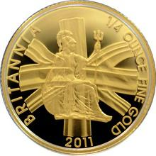 Zlatá mince 1/4 Oz Britannia 2011 Proof