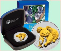 2010_$1_koala_guilded_1oz_coin_case_shipper