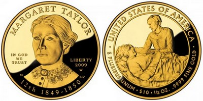 Margaret-Taylor-First-Spouse-Gold-Coin-Proof