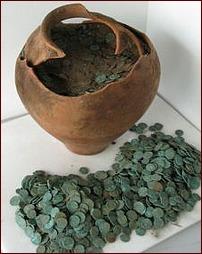 V Británii bylo nalezeno 10,000 Římských mincí