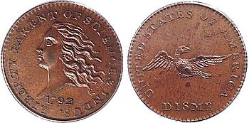 Prototype coin 1792