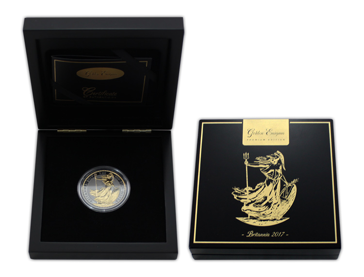 stribrna_mince_pozlacena_britannia_1oz_golden_enigma_2017_proof