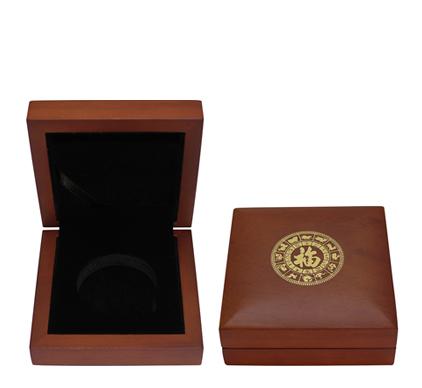 Dřevěná krabička pro 1 oz minci Lunární série III.