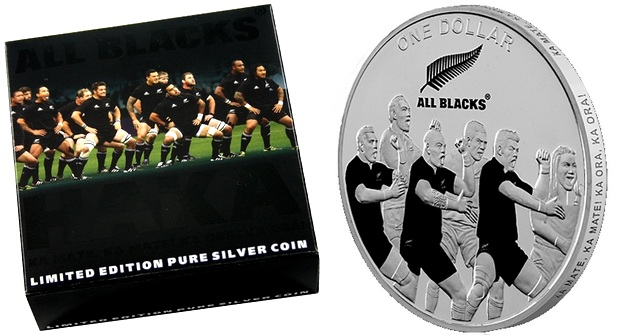 all_blacks_haka_stribrna_mince_2011_proof