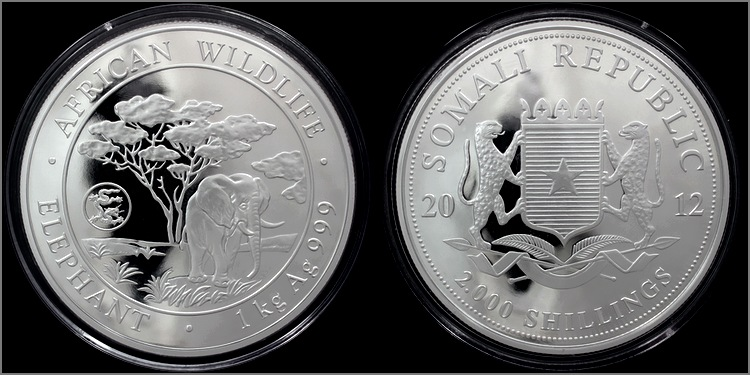 stribrna_mince_slon_africky_african_wildlife_1kg_privy_mark_2012_proof