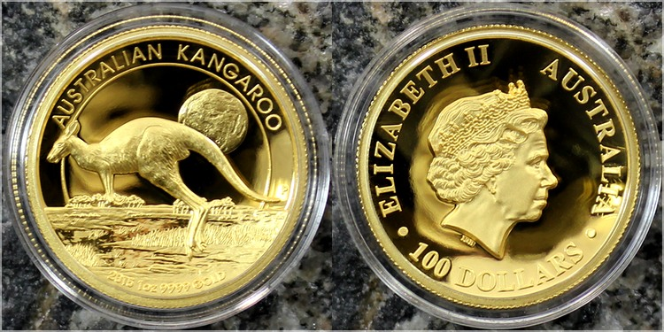 zlata_mince_australian_kangaroo_high_relief_1oz_2015_proof